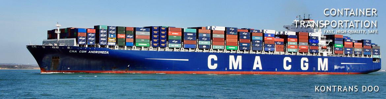 velicine kontejnera